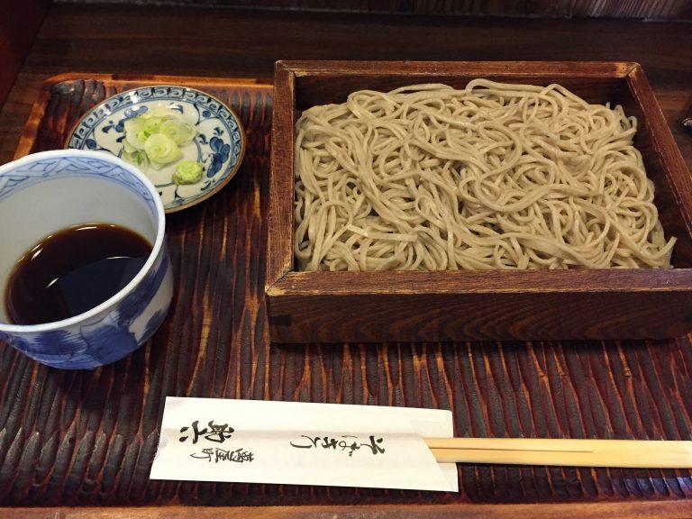 Soba Restaurants In Tokyo