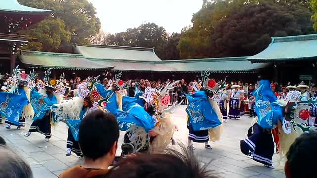 Festival Meiji Shrine