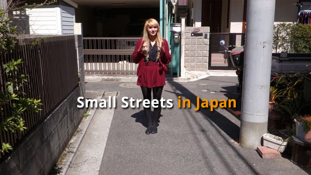 Small Streets of Japan